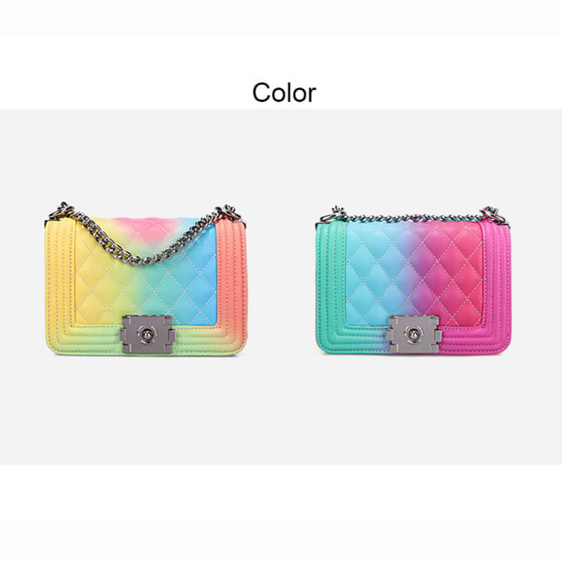 Contrast Color Bag Gift for her 88211592398#